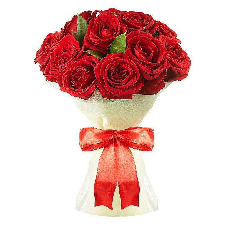 фото букет оформлен красиво розы то